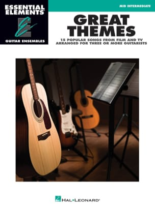 Great themes - 15 songs from film and TV arranged for three or more guitarists laflutedepan