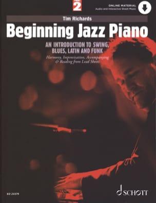 Tim Richards - Beginning Jazz Piano - Volume 2 - Partition - di-arezzo.fr
