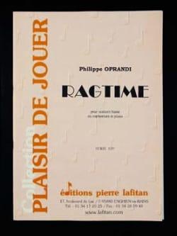 Ragtime Philippe Oprandi Partition Tuba - laflutedepan