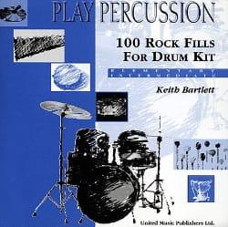 100 Rock Fills For Drum Kit - Elementary / Intermediate laflutedepan