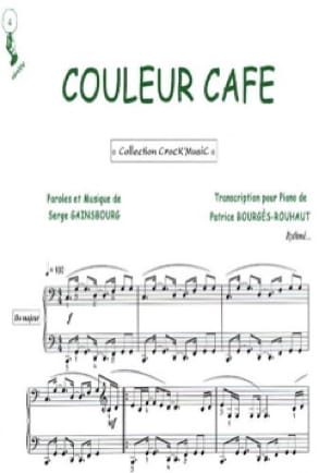 Couleur Café - Serge Gainsbourg - Partition - laflutedepan.com