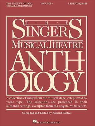 The Singer's Musical Theater Anthology Volume 3 - Baritone / Bass - Partition - di-arezzo.com