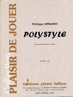 Polystyle Philippe Oprandi Partition Tuba - laflutedepan