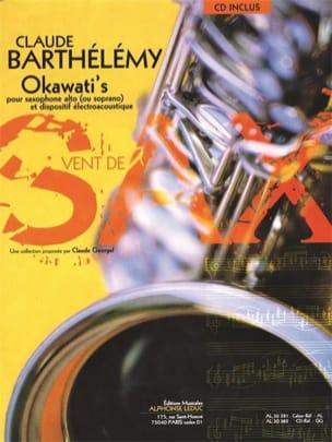 Okawati's Claude Barthélémy Partition Saxophone - laflutedepan
