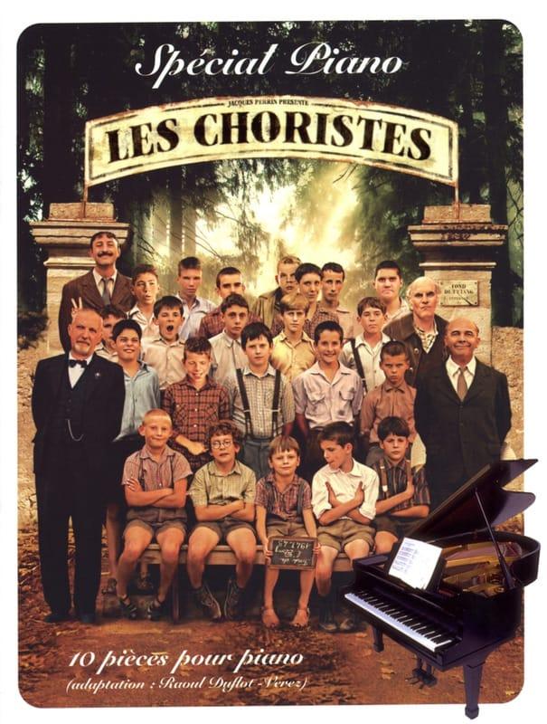 Les Choristes Spécial Piano - Bruno Coulais - laflutedepan.com