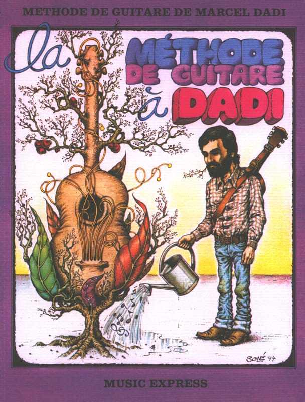 La Méthode de Guitare à Dadi - Marcel Dadi - laflutedepan.com