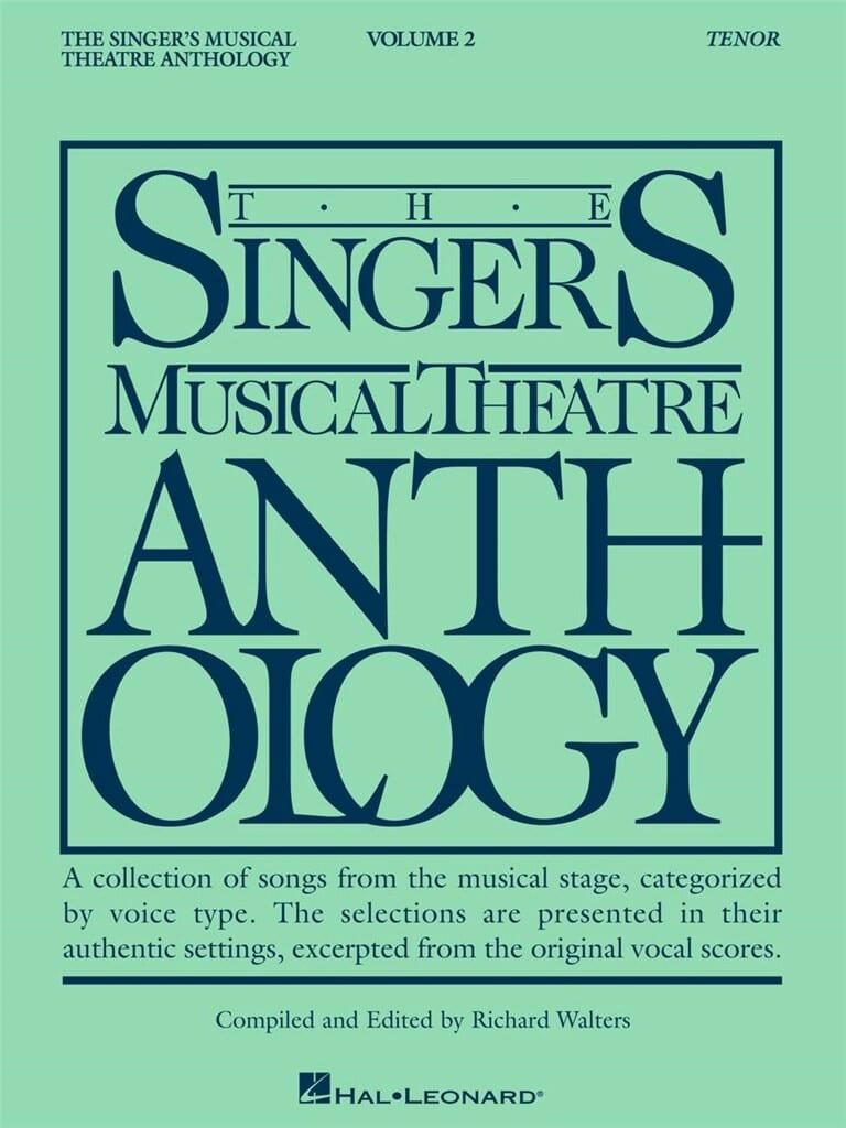 The Singer's Musical Theatre Anthology Volume 2 - Tenor - laflutedepan.com