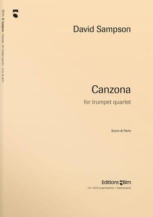 Canzona - Quatuor de trompettes - David Sampson - laflutedepan.com