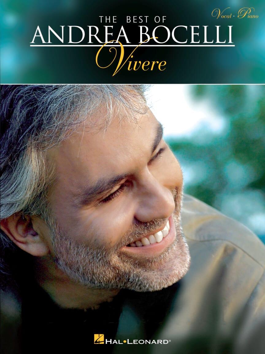 Vivere - Andrea Bocelli - Partition - Pop / Rock - laflutedepan.com