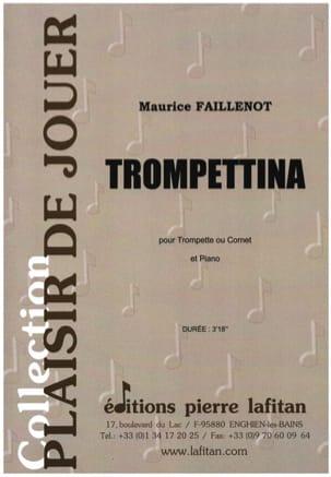 Trompettina Maurice Faillenot Partition Trompette - laflutedepan