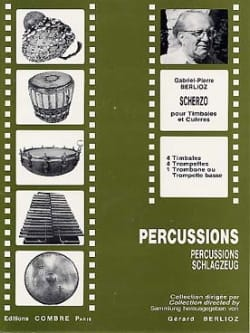 Scherzo Gabriel-Pierre Berlioz Partition Timbales - laflutedepan