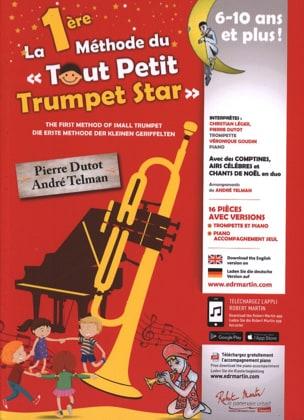 La 1ère Méthode du Tout Petit Trumpet Star Partition laflutedepan