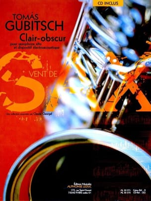 Clair-Obscur Thomas Gubitsch Partition Saxophone - laflutedepan