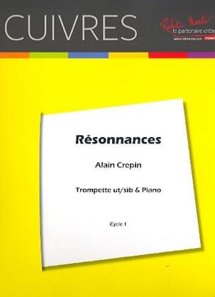 Résonnances Alain Crepin Partition Trompette - laflutedepan
