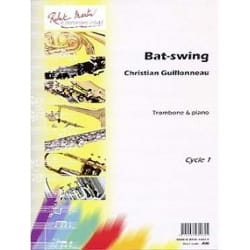 Bat-Swing Christian Guillonneau Partition Trombone - laflutedepan