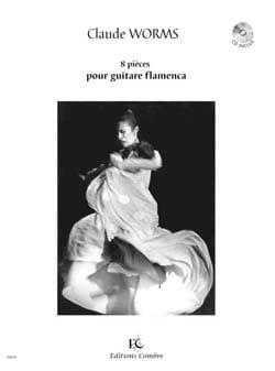 Claude Worms - 8 Pieces for Flamenco Guitar - Partition - di-arezzo.com