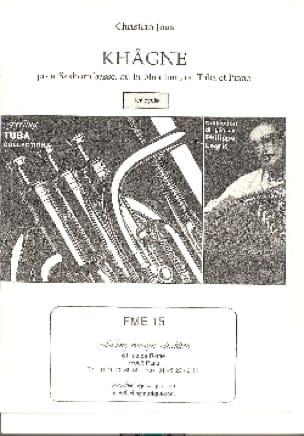 Khâgne - Christian Jous - Partition - Tuba - laflutedepan.com