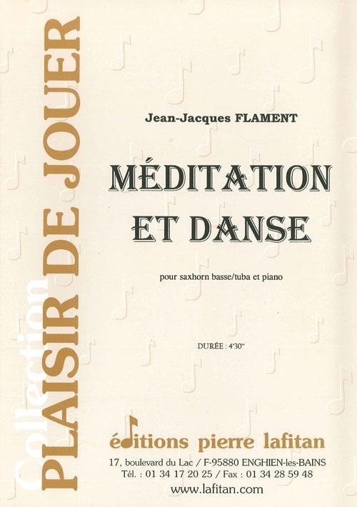 Méditation Et Danse - Jean-Jacques Flament - laflutedepan.com