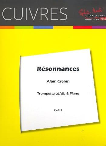 Résonnances - Alain Crepin - Partition - Trompette - laflutedepan.com