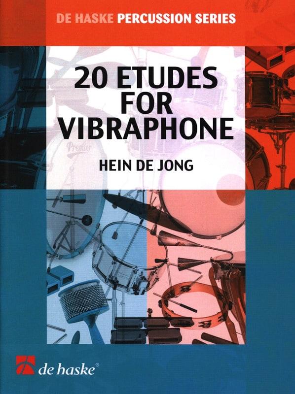 20 Etudes Pour Vibraphone - Hein De Jong - laflutedepan.com