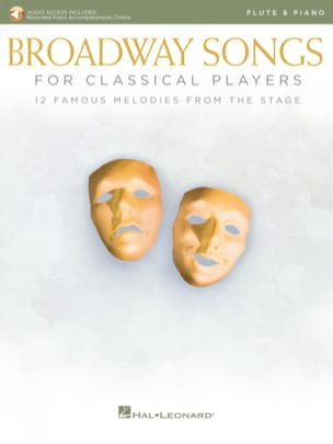 Broadway Songs For Classical Players - Flute - Piano - Partition - di-arezzo.co.uk