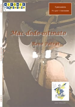 Mac-Dodo-Ostinato René Potrat Partition laflutedepan
