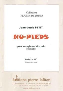 Nu-Pieds Jean-Louis Petit Partition Saxophone - laflutedepan