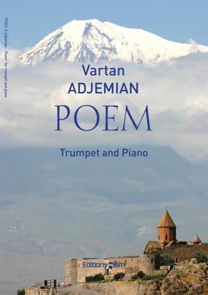Poem - Vartan Adjemian - Partition - Trompette - laflutedepan.com