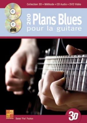 200 plans blues pour la guitare en 3D - laflutedepan.com