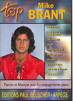 Top Mike Brant - Mike Brant - Partition - laflutedepan.com