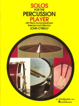 Solos For The Percussion Player Partition laflutedepan