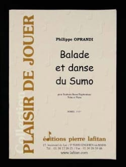 Ballade Et Danse du Sumo Philippe Oprandi Partition laflutedepan