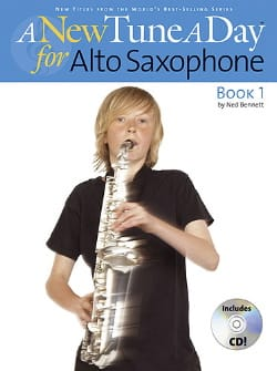 A New Tune A Day For Alto Saxophone Book 1 Ned Bennett laflutedepan