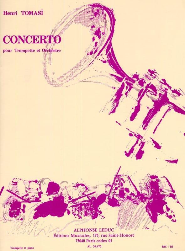 Concerto - TOMASI - Partition - Trompette - laflutedepan.com