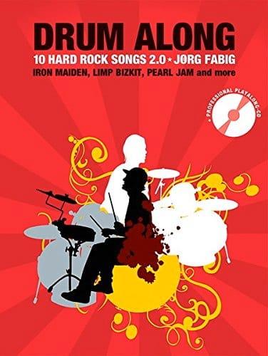 Drum Along - 10 Hard Rock Songs 2.0 - Partition - laflutedepan.com
