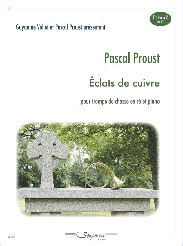 Eclats de cuivre - Pascal Proust - Partition - Cor - laflutedepan.com