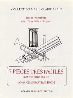 7 Pièces Très Faciles Sur Des Chorals de J-S Bach BACH laflutedepan