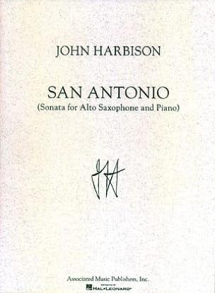 San Antonio John Harbison Partition Saxophone - laflutedepan