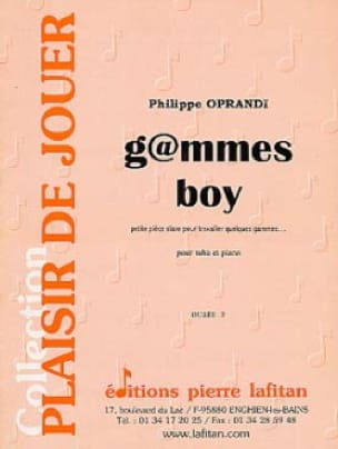 G@mmes Boy - Philippe Oprandi - Partition - Tuba - laflutedepan.com