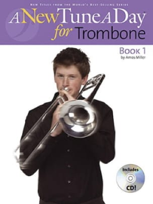 A New Tune A Day For Trombone Book 1 - Amos Miller - laflutedepan.com