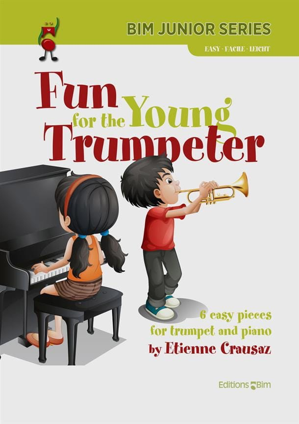 Fun for the Young Trumpeter - Etienne Crausaz - laflutedepan.com