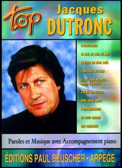 Top Jacques Dutronc Jacques Dutronc Partition laflutedepan