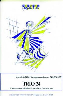 Trio 24 HAYDN Partition Ensemble de percussions - laflutedepan