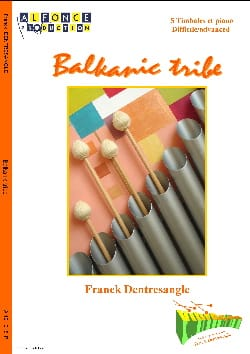 Balkanic Tribe Franck Dentresangle Partition Timbales - laflutedepan