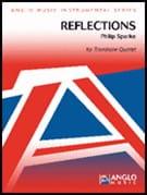 Reflections Philip Sparke Partition Trombone - laflutedepan