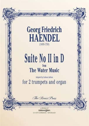 Suite N° 2 in D from the Water Music HAENDEL Partition laflutedepan