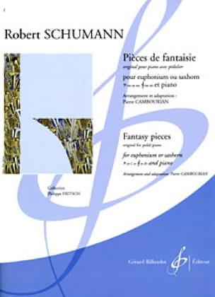 Pièces de Fantaisie - SCHUMANN - Partition - Tuba - laflutedepan.com