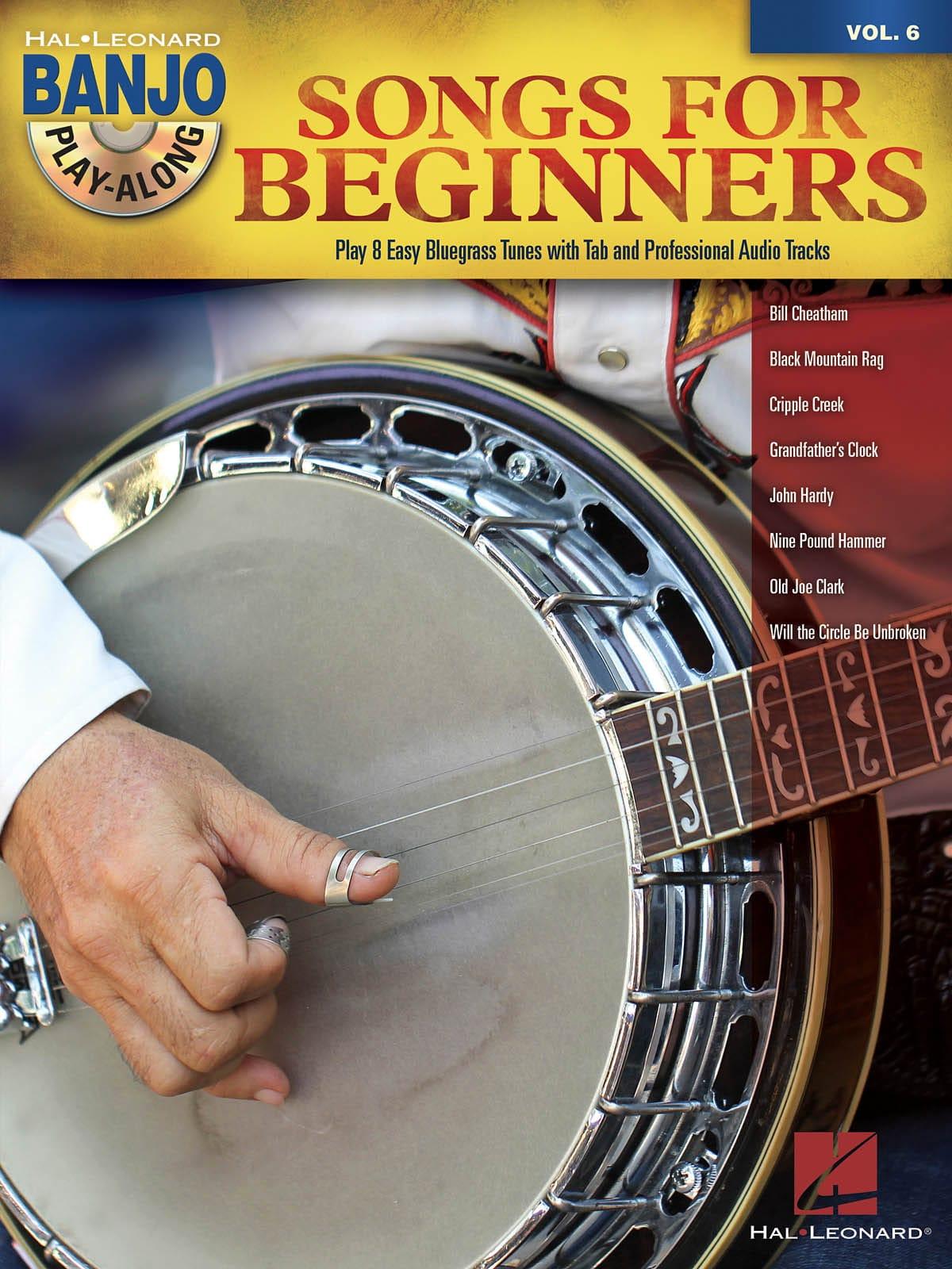 Banjo Play-Along Volume 6 - Songs for Beginners - laflutedepan.com
