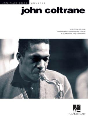 John Coltrane - Jazz piano solos volumen 24 - Partition - di-arezzo.es