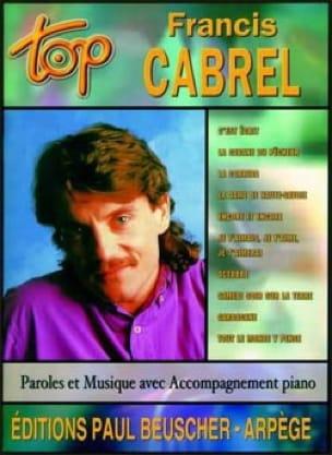 Top Francis Cabrel - Françis Cabrel - Partition - laflutedepan.com